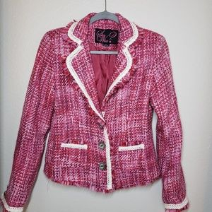 Pink tweet jacket